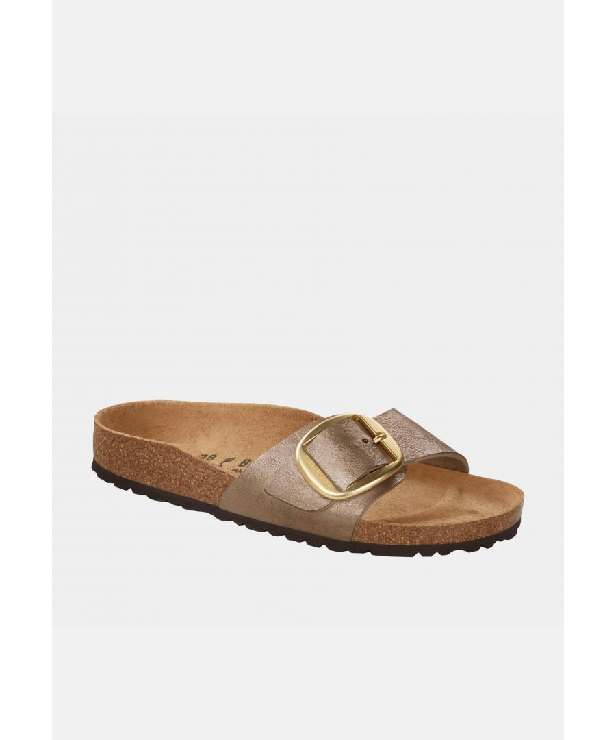 Image for Birkenstock Madrid Big Buckle Bf Graceful Taupe 1016237 Narrow Fit