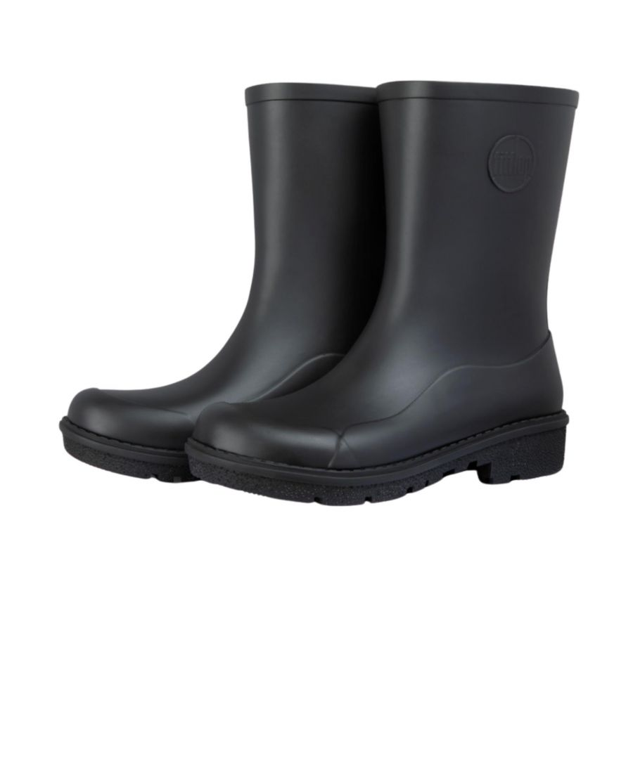 Image for Fitflop Wonderwelly Short Ah6-090 Black