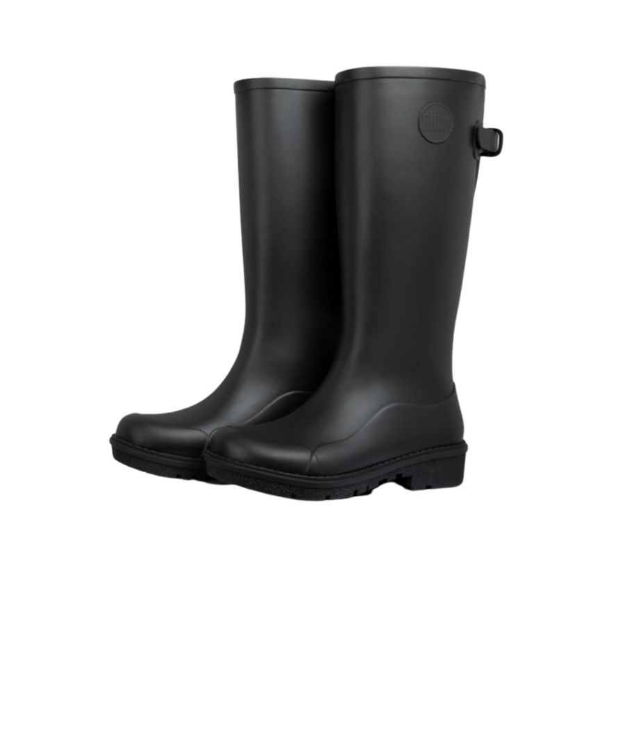 Image for Fitflop Wonderwelly Tall Ah7-090 Black
