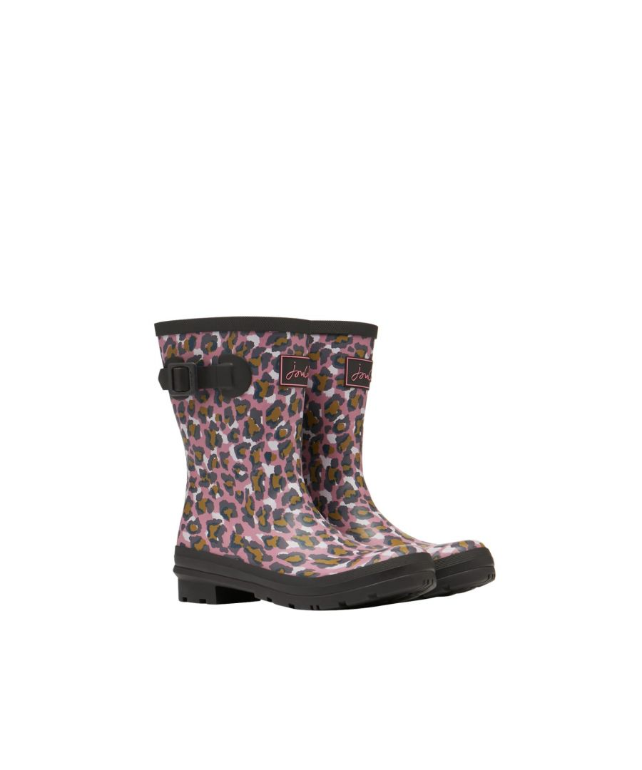 Image for Joules 209675 Molly Welly Pink Leopard