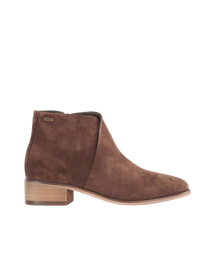 Image for Barbour Caryn Lfo0405br51 Choco Suede