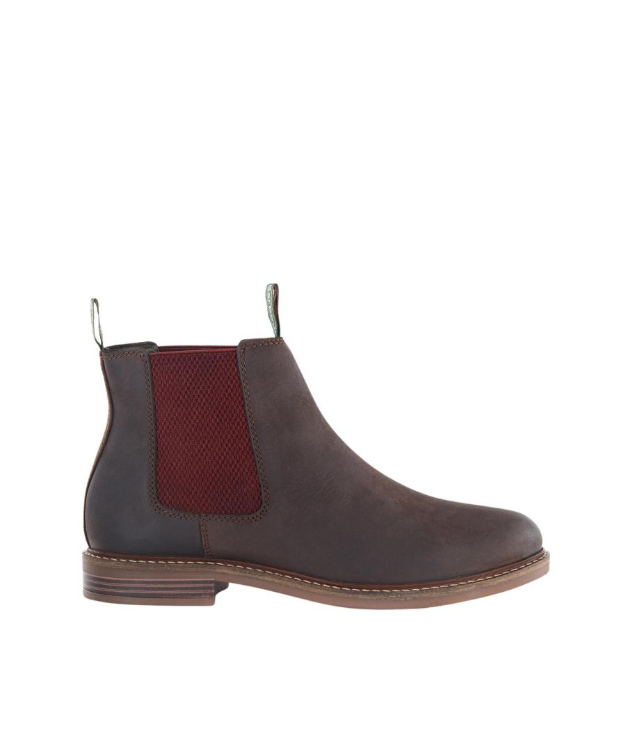 Image for Barbour Farsley Mfo0244br99 Choco Suede