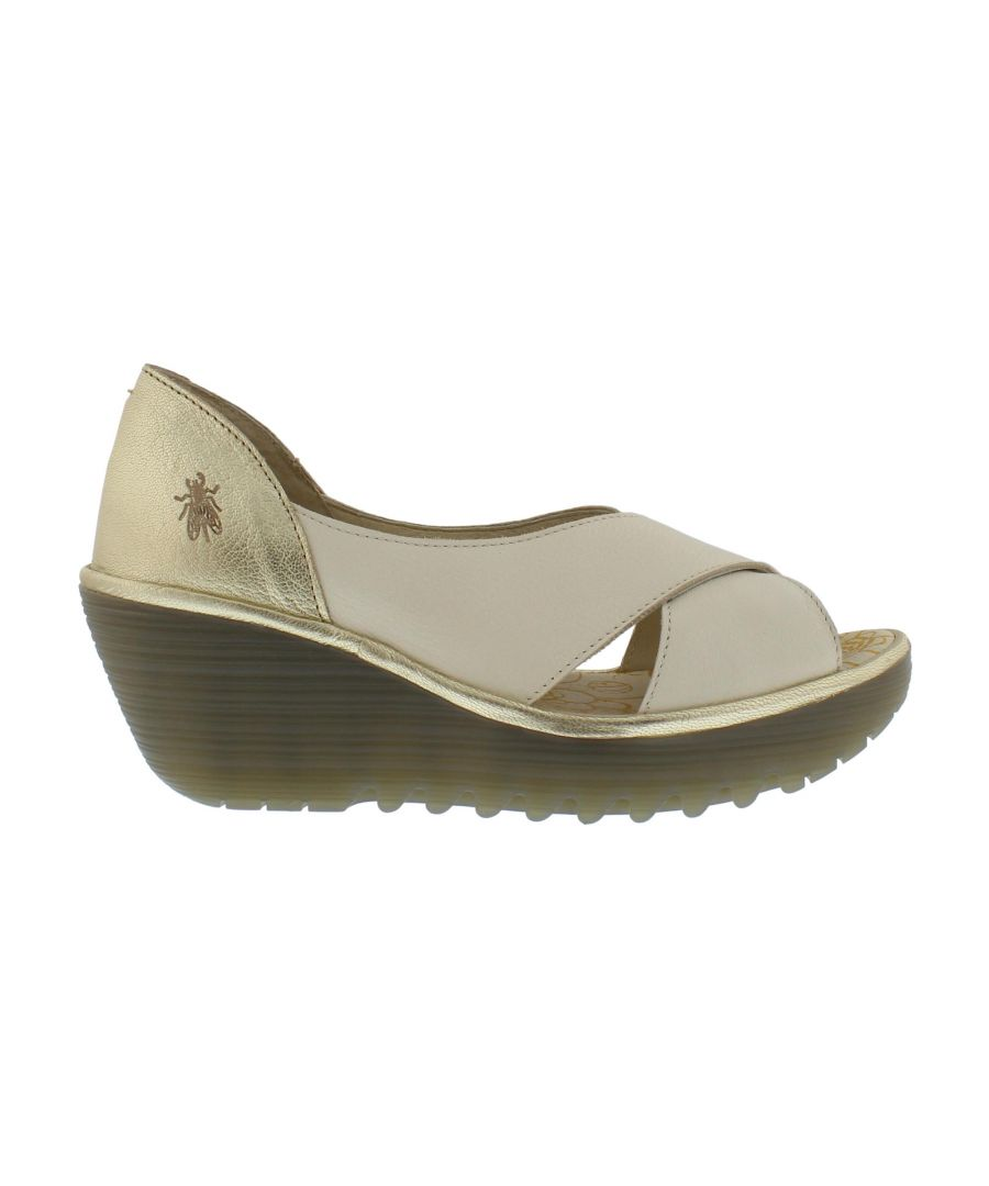 Image for Fly London Yoma P501307002 Offwhite/Gold