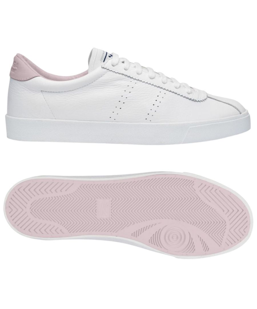 Image for Superga 2843 Club S Comfort Leather  White-Pink Lt