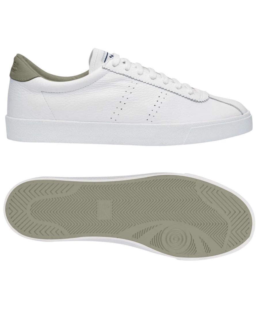 Image for Superga 2843 Club S Comfort Leather  White-Agate Grey