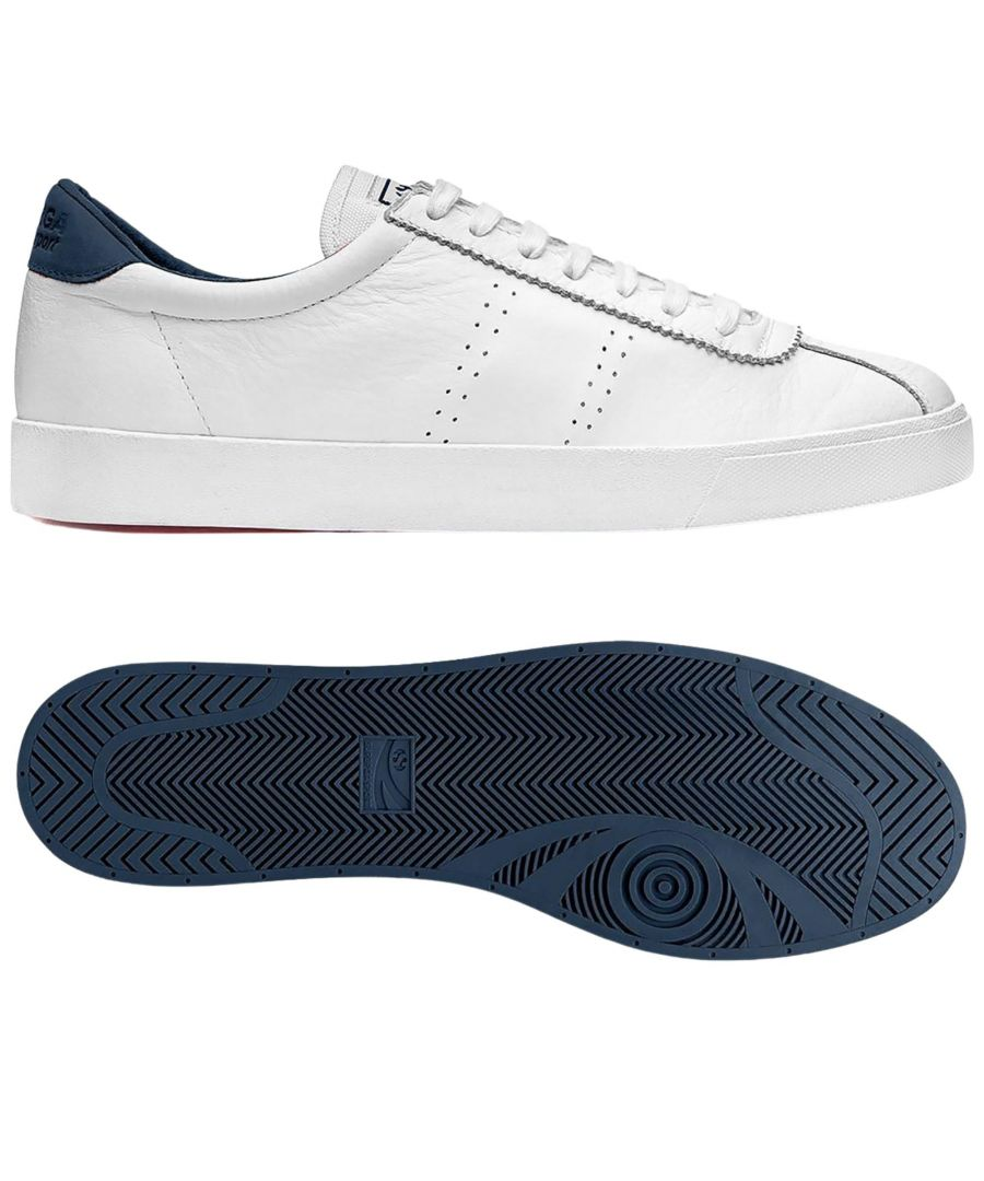Image for Superga 2843 Club S Comfort Leather  White Navy