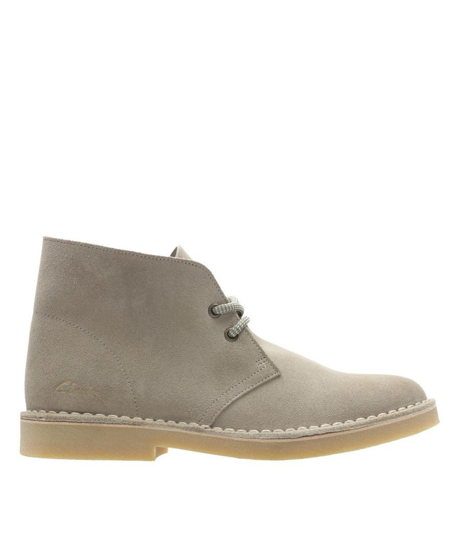 Image for Clarks Desert Boot 2 26155660 Sand Suede