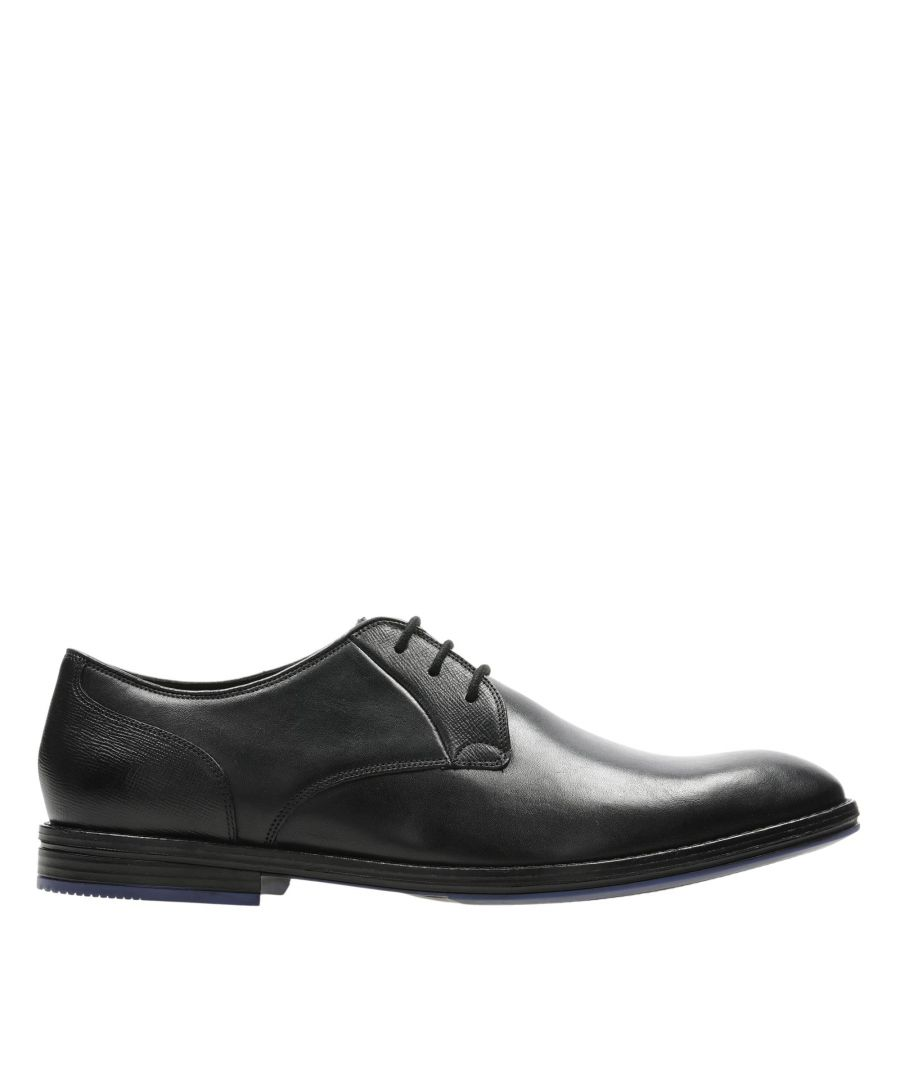 Image for Clarks Citistridelace 26153361 Black Combi