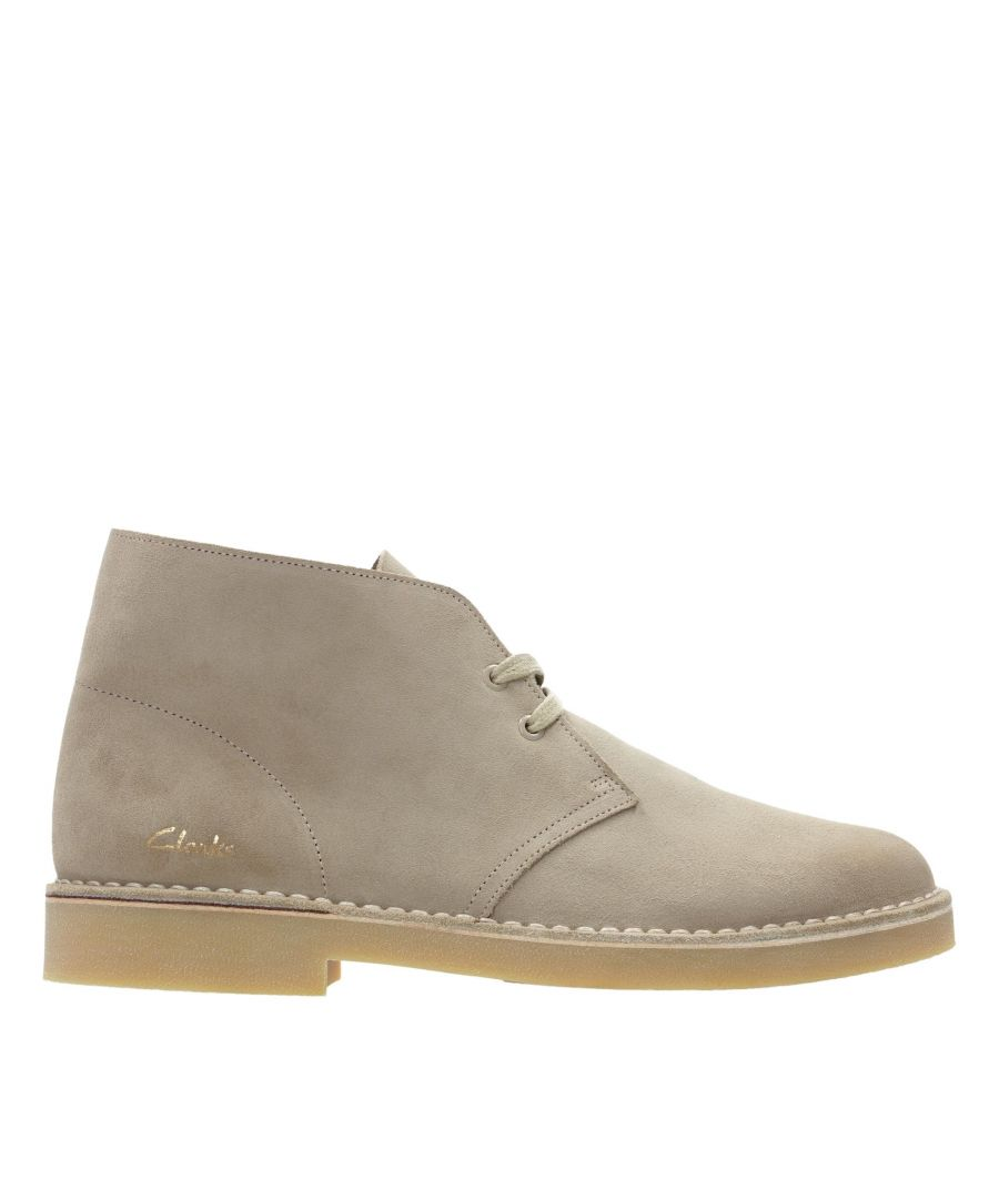 Image for Clarks Desert Boot 2 26155495 Sand Suede
