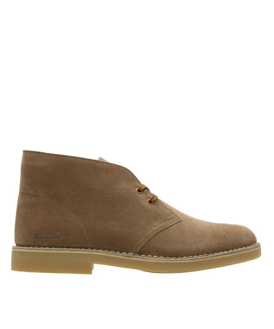 Image for Clarks Desert Boot 2 26156375 Cognac Suede