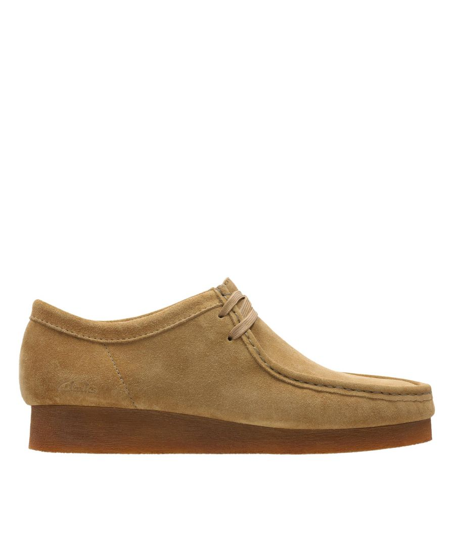 Image for Clarks Wallabee 2 26158277 Cognac Suede