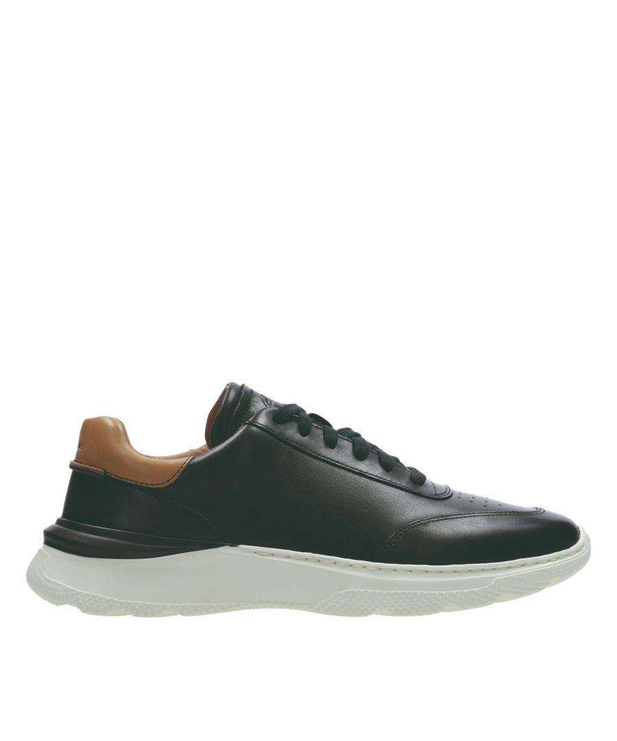 Image for Clarks Sprintlitelace 26158341 Black Leather