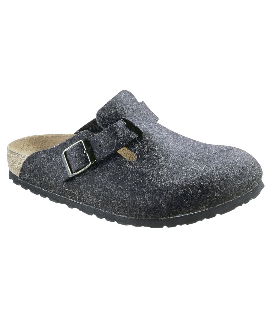 Image for Birkenstock Boston Bs Regular Fit 160371 Anthrazit
