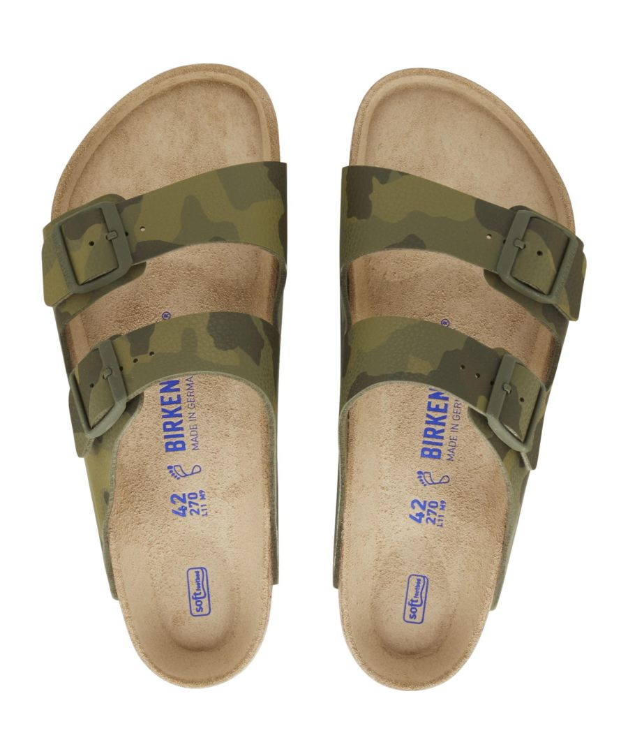 Image for Birkenstock Arizona Bs Regular Fit 1019597 Desert Soil Camo Green