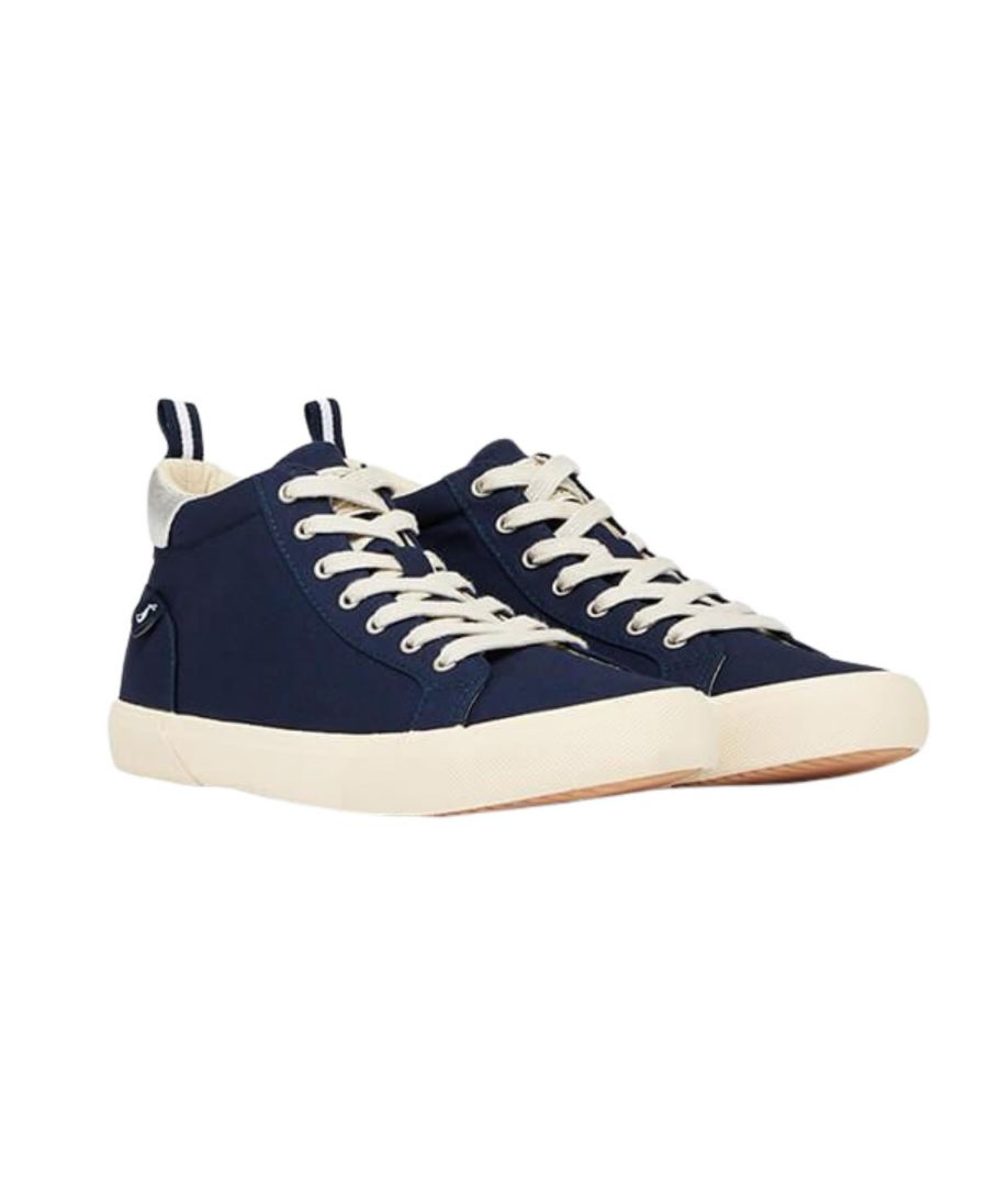 Image for Joules Coast Pump Canvas 210764 Mid French Navy
