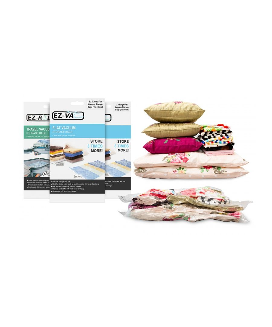Image for Vacuum Storage Bags 6 Pack