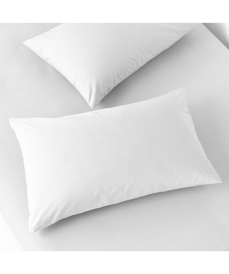 Image for 200Tc H/W Pillowcase Pairs White