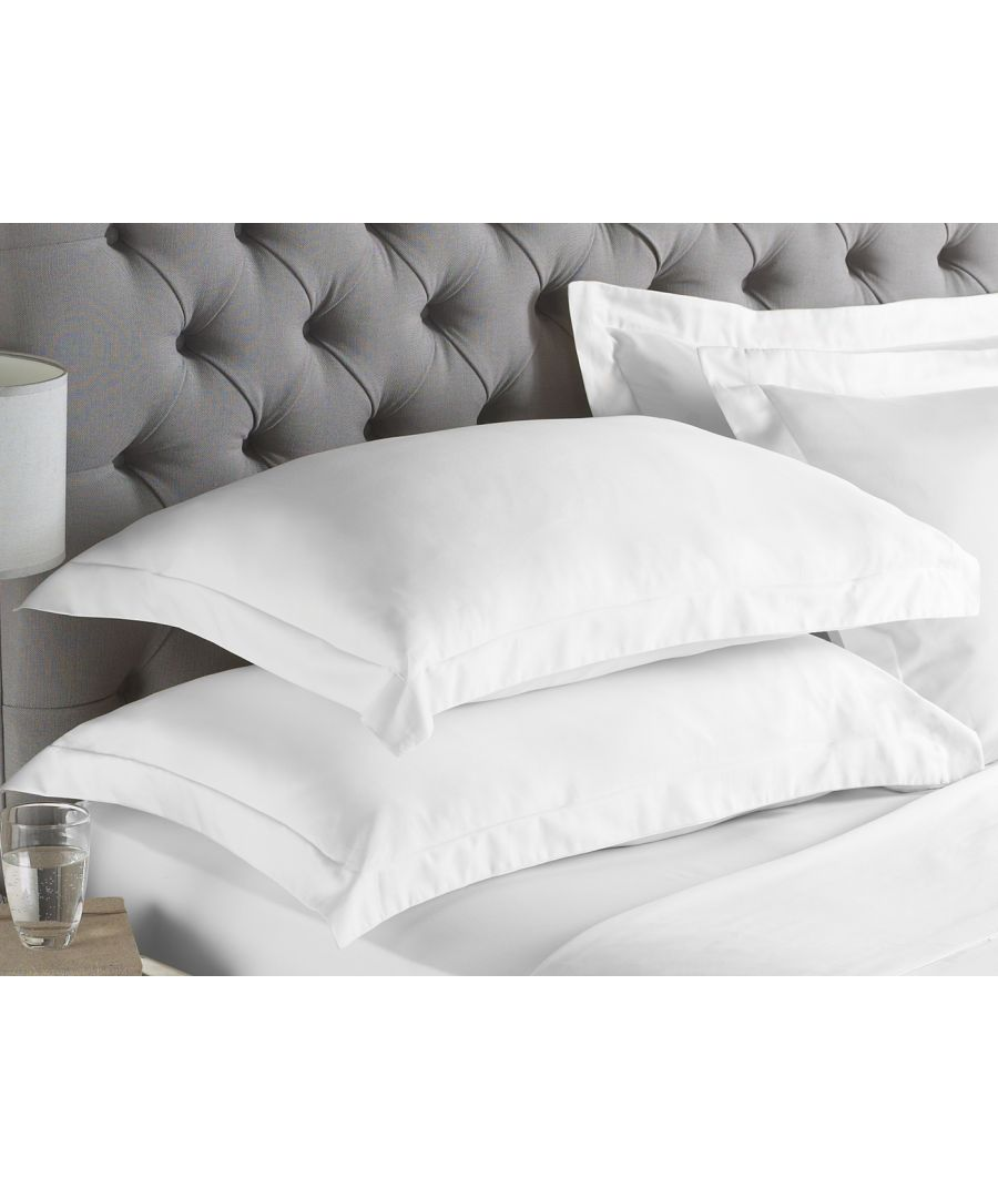 Image for 200Tc Oxford Pillowcase White