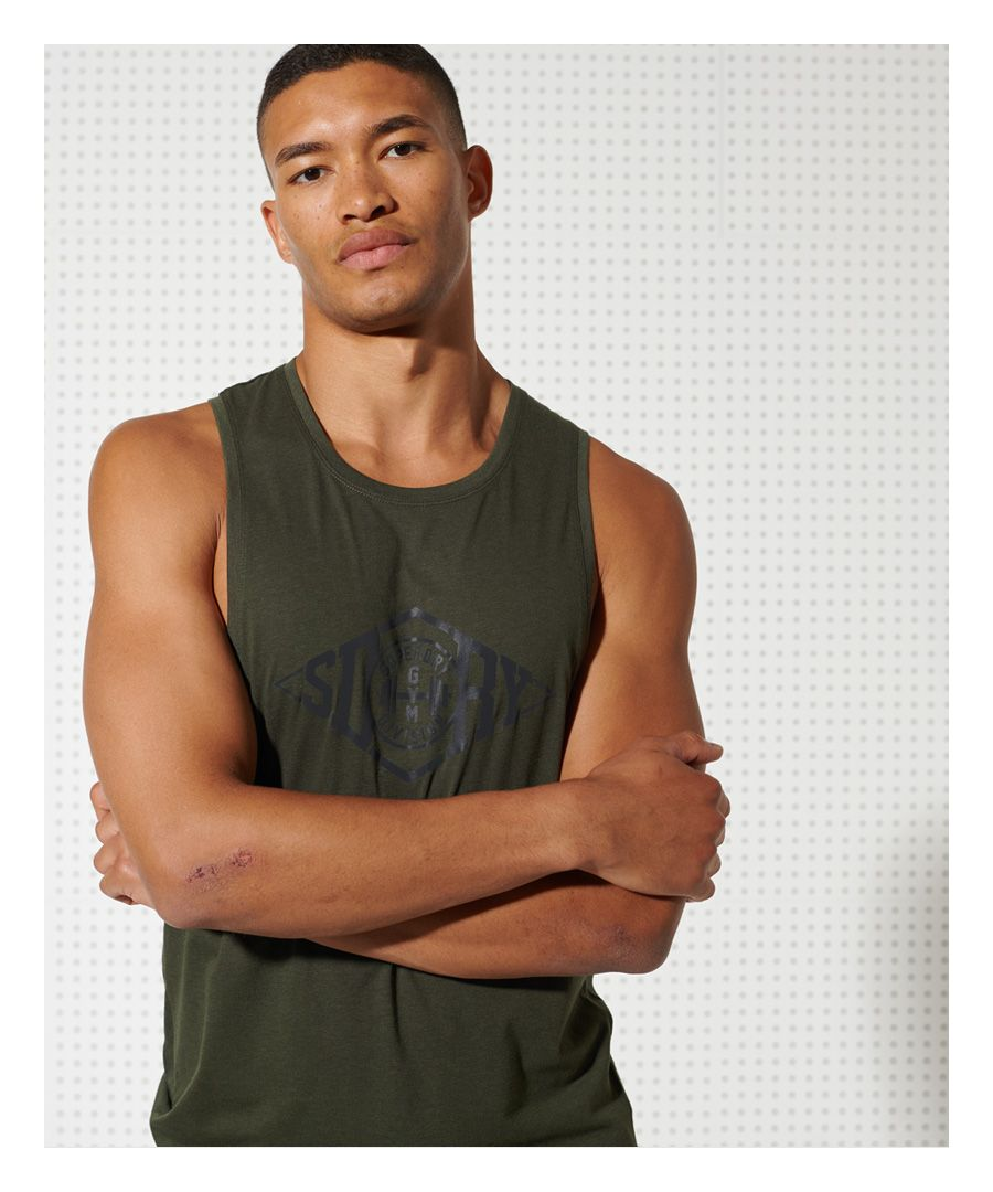 Image for Sport Training Drop Arm Hole Tank Top