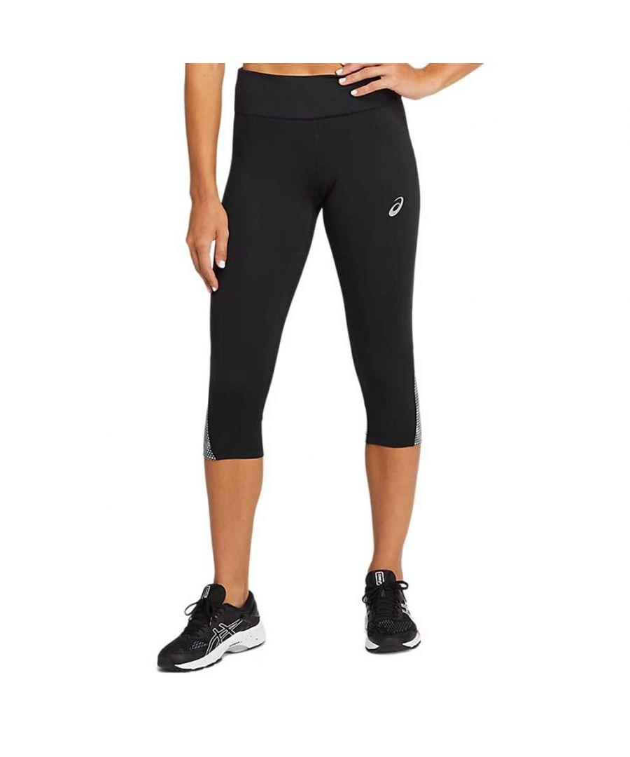 Image for Asics Sport RFLC Womens Knee Tight Black - M