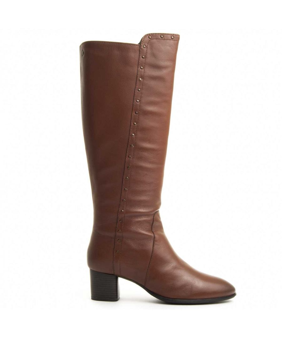 Image for Purapiel Knee High Boot in Brown