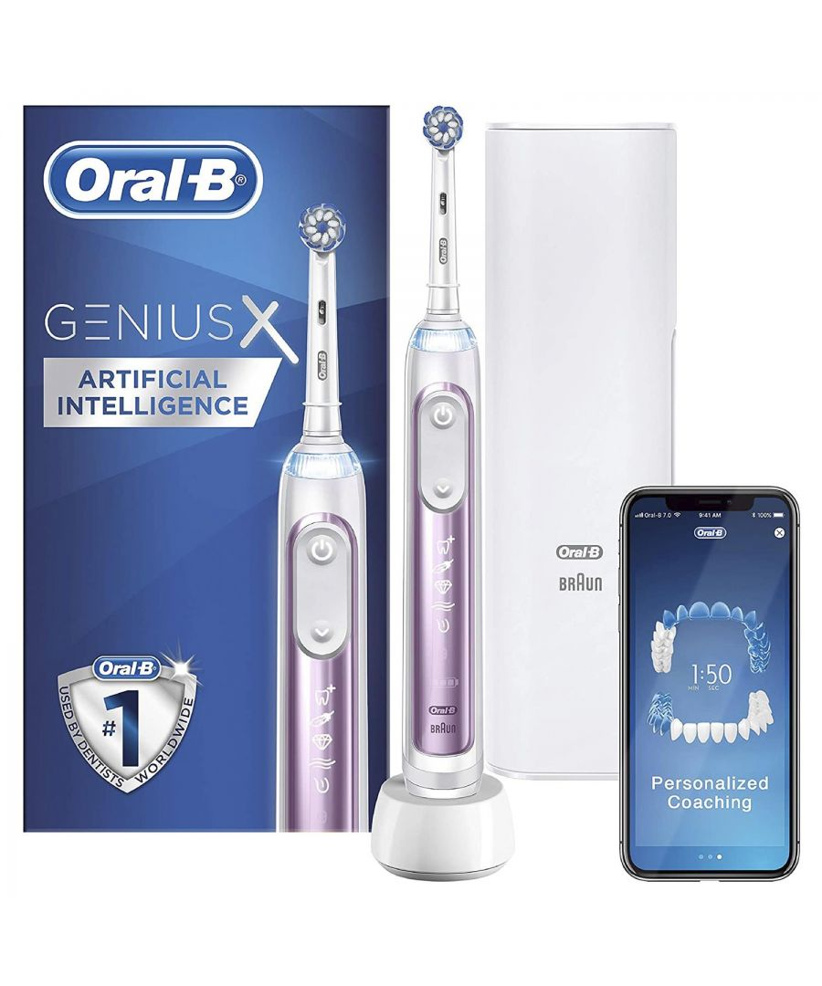 Image for Oral B Power Genius X Electric Toothbrush Blush Pink