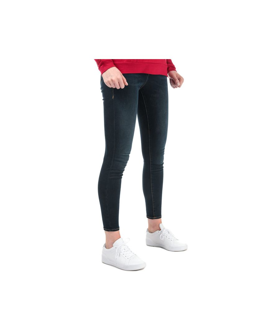 Image for Women's True Religion Caia Ultra High Rise Super Skinny Jeans in Denim
