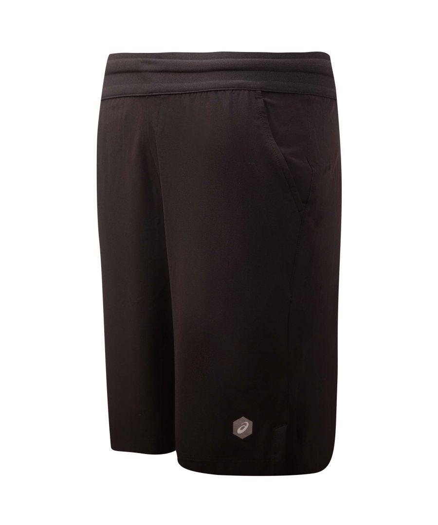 Image for Asics Woven Mens Short Black