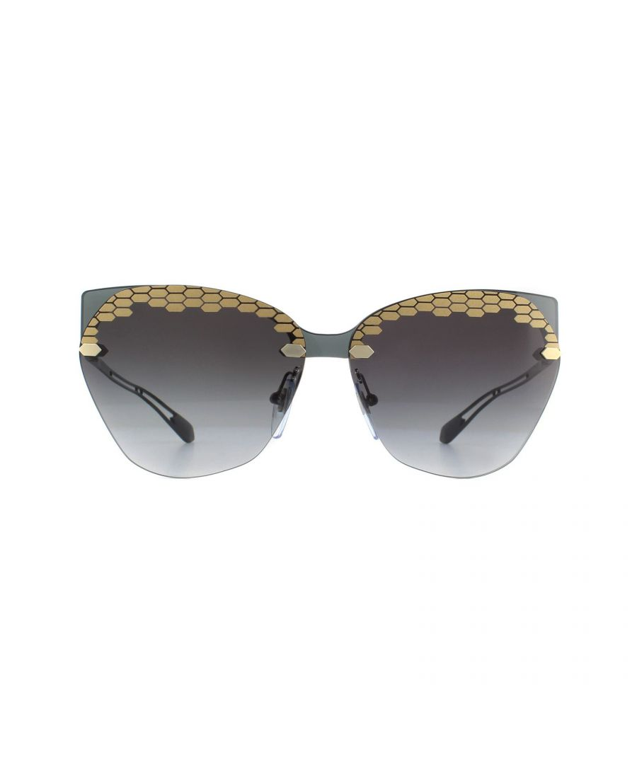 Image for Bvlgari Sunglasses BV6107 20478G Grey Grey Gradient