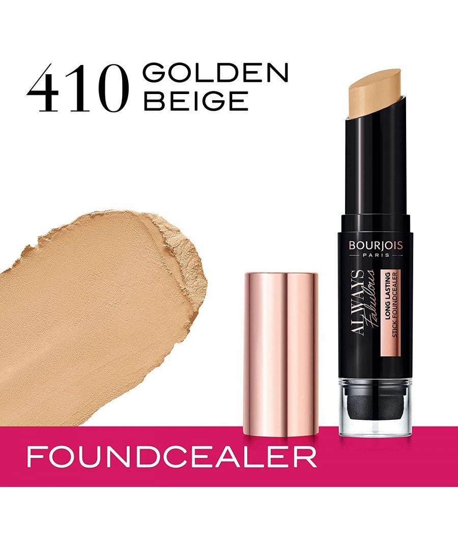 Image for Bourjois Always Fabulous Long Lasting Stick Foundcealer - 410 Golden Beige