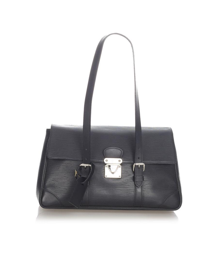 Image for Vintage Louis Vuitton Epi Segur MM Black