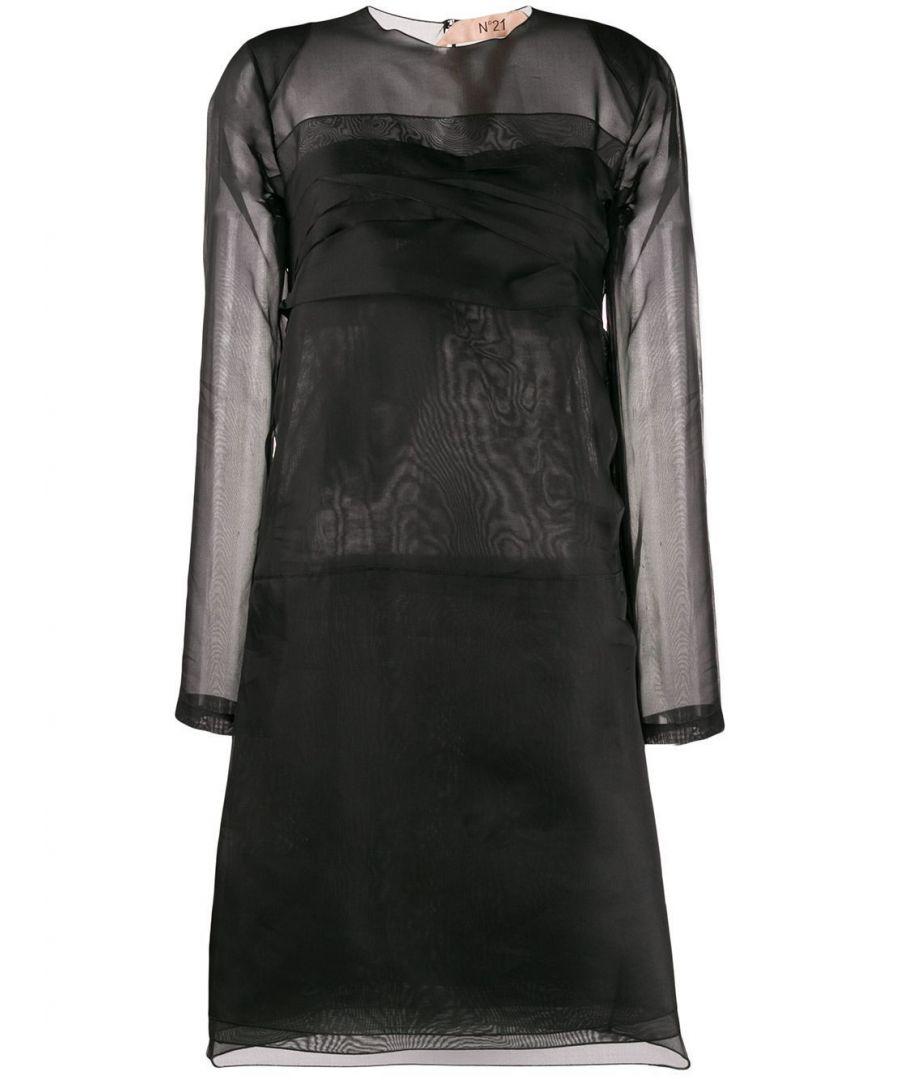 Image for N°21 WOMEN'S H15156049000 BLACK SILK DRESS