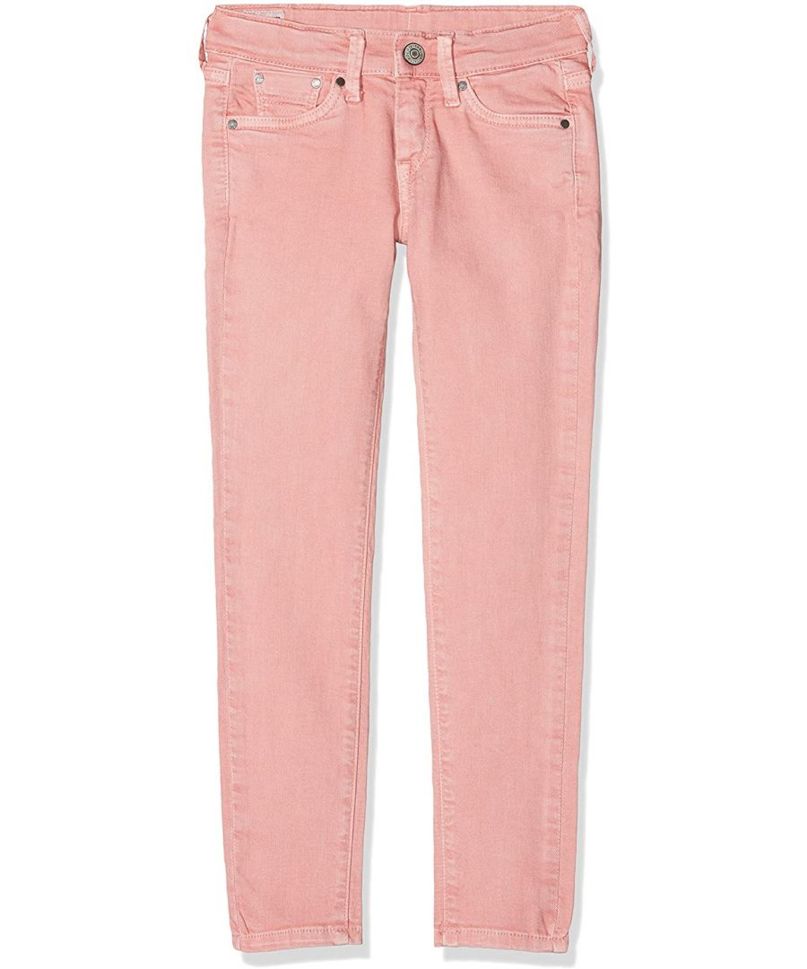 Image for Pepe Jeans Girls Skinny Jeans in Peach