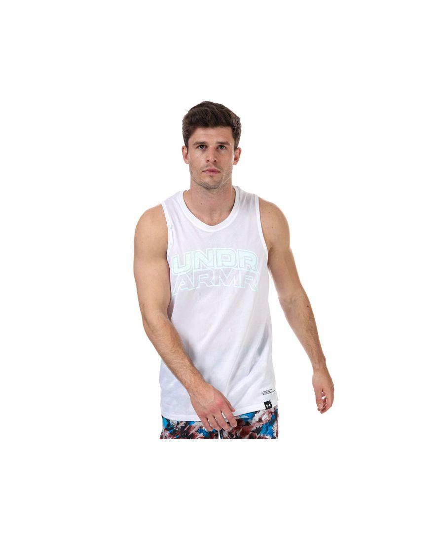 Image for Men's Under Armour Futures Retro Vest in White