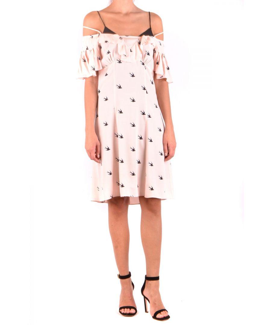 Image for Alexander McQueen Women's Dress in Pink