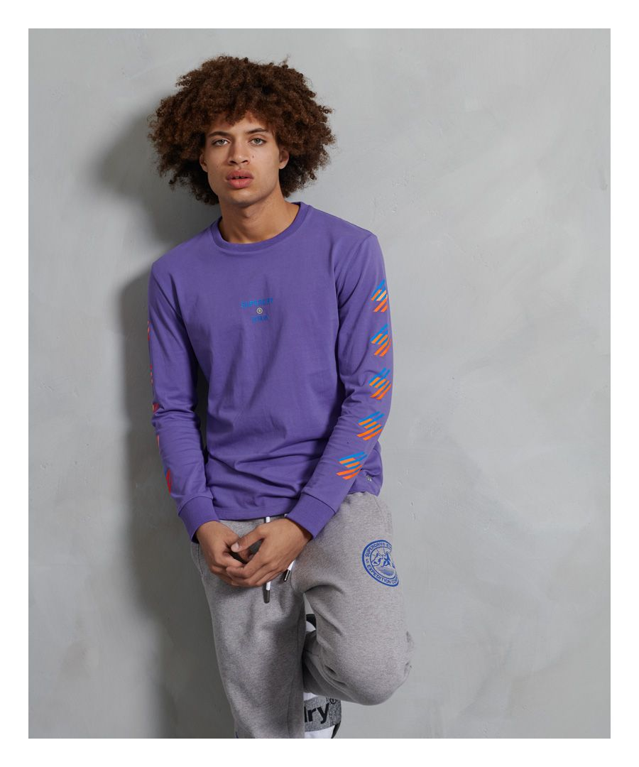 Image for Superdry Sportstyle Long Sleeved Top