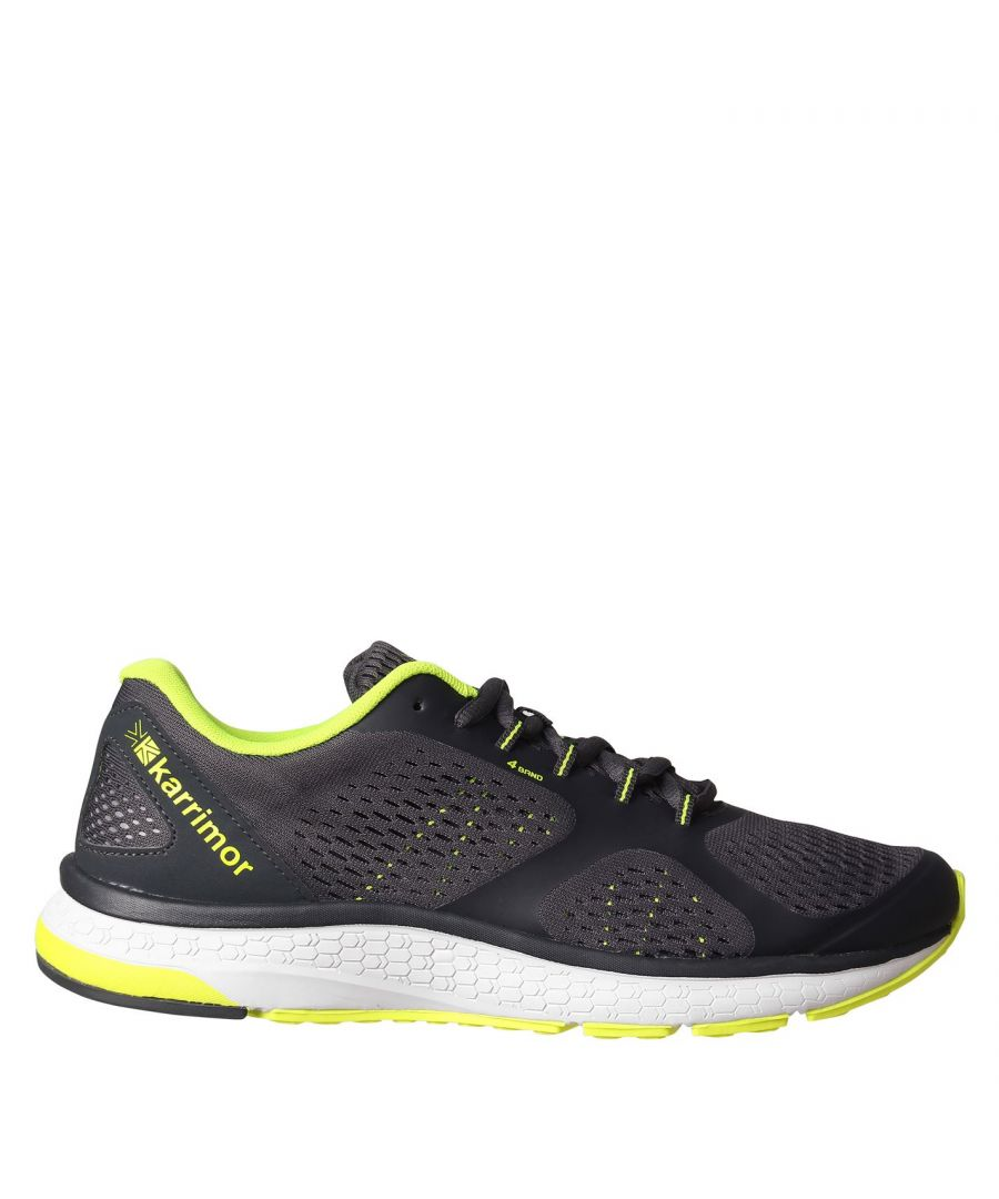 Image for Karrimor Mens Tempo 5 Running Shoes Road Lace Up Breathable Lightweight Mesh