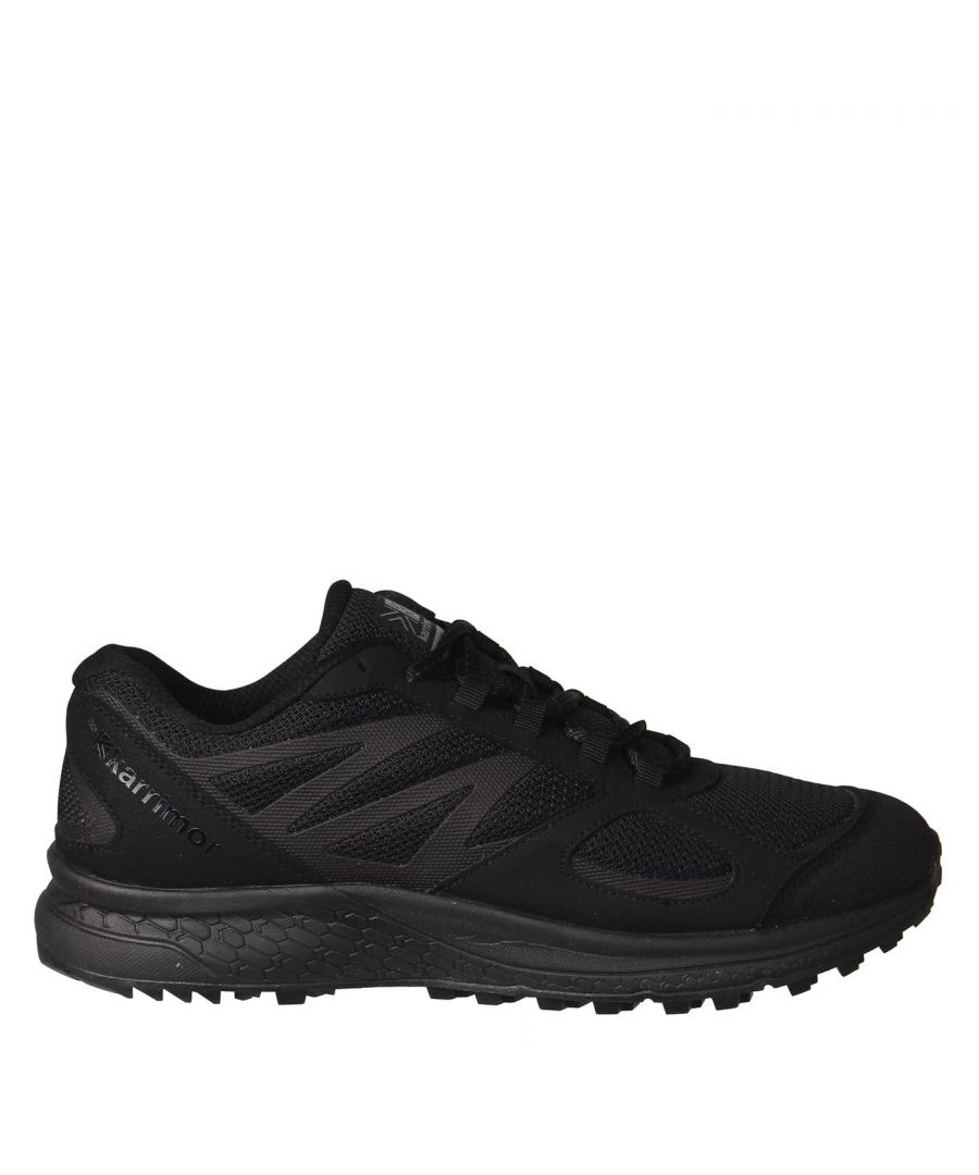 Image for Karrimor Mens Tempo 5 Trail Running Shoes Lace Up Lightweight Mesh Upper