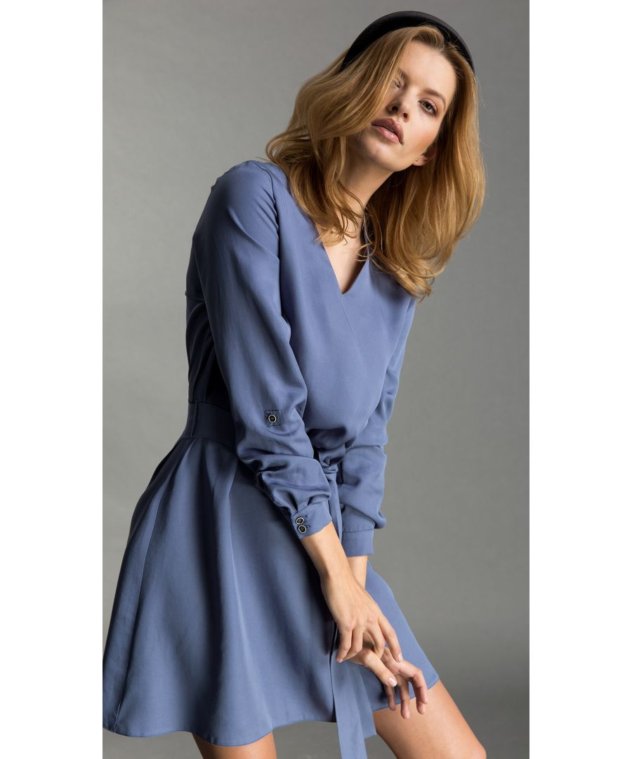 Image for Nicole Pastel Blue Dress