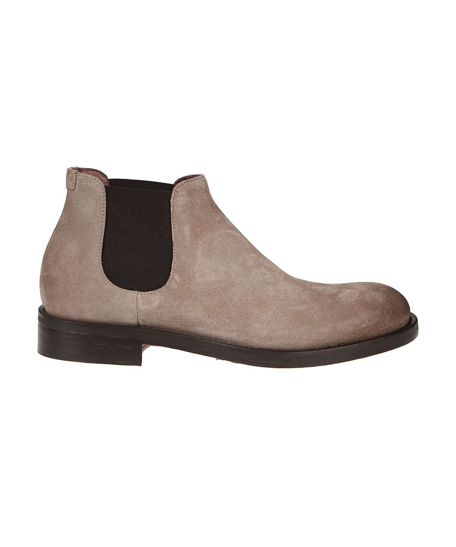 Image for DOUCAL'S MEN'S DU2516BERGUF024TC42 BROWN LEATHER ANKLE BOOTS