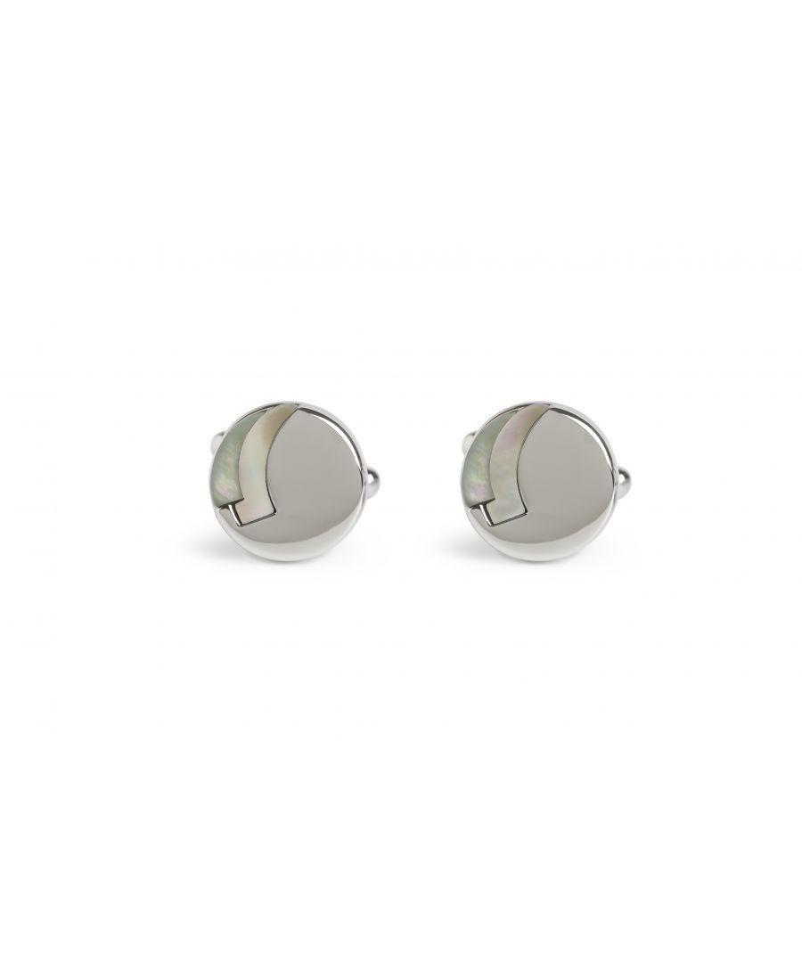 Image for Grey MOP Rondo Cufflinks