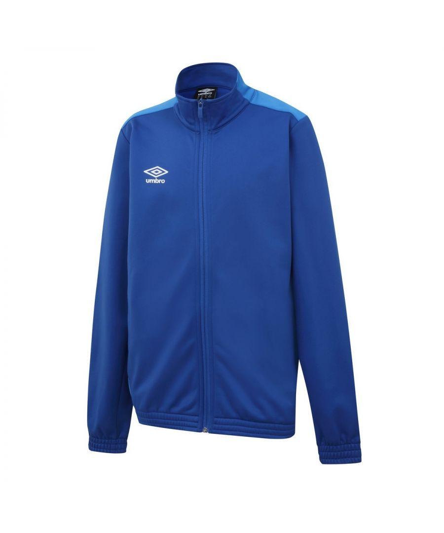 Image for Umbro Boys Knitted Jacket (Royal Blue/French Blue)
