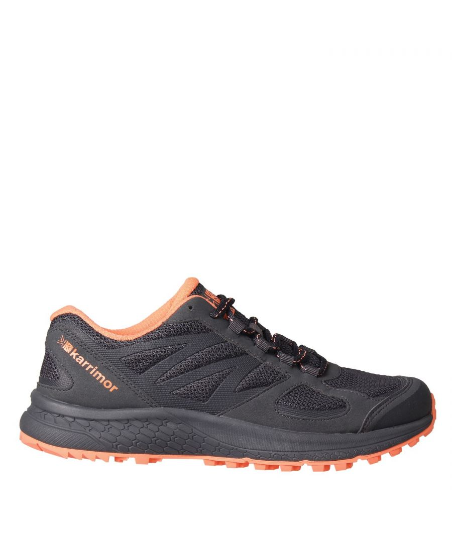 Image for Karrimor Womens Tempo 5 Trail Running Shoes Lace Up Breathable Padded Ankle