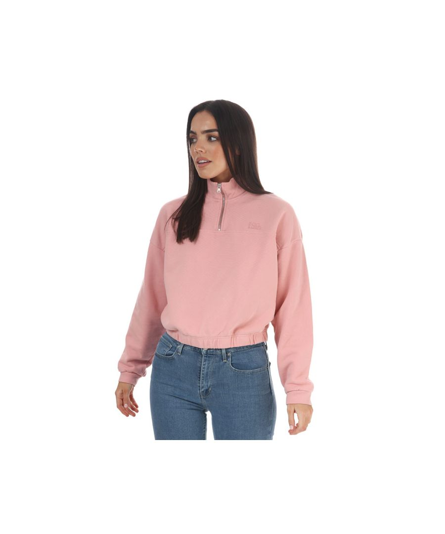 Image for Women's Levis Graphic Surf T-Shirt Pink 6in Pink