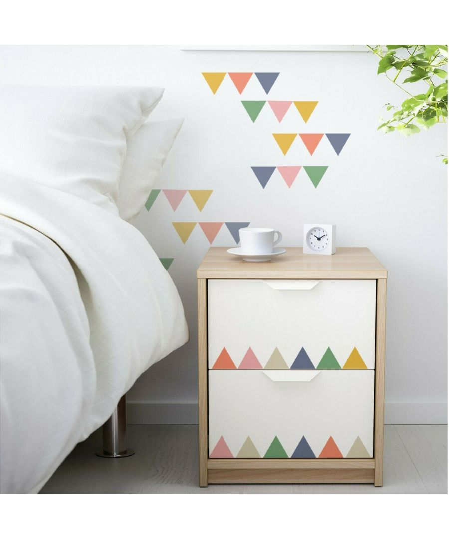Image for Party triangles Wall Stickers, Self Adhesive, DIY, Decoration, Kids Room, Nursery, Children's room, Boy, Girl