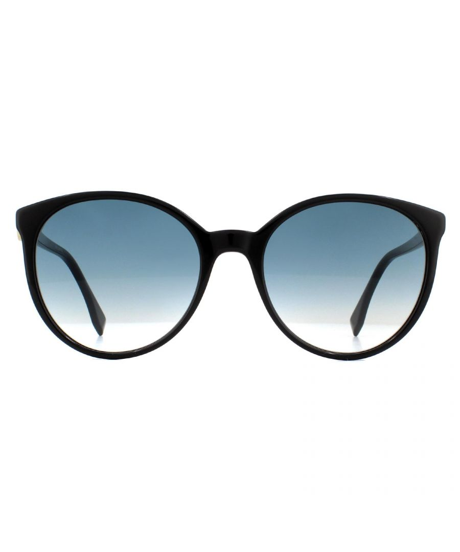 Image for Fendi Sunglasses FF 0288/S 807 08 Black Blue Gradient
