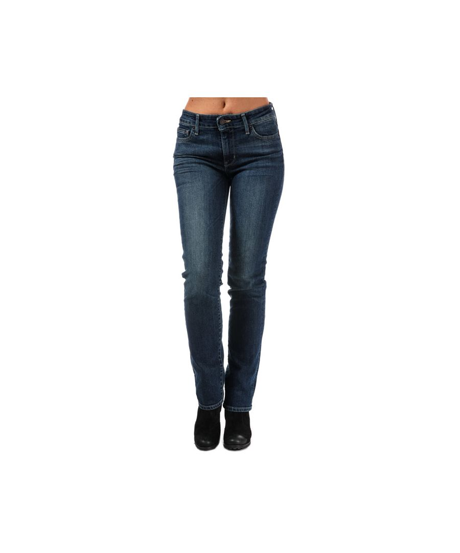 Image for Women's Levis 714 Straight Fit West Coast Wonder Jeans in Denim