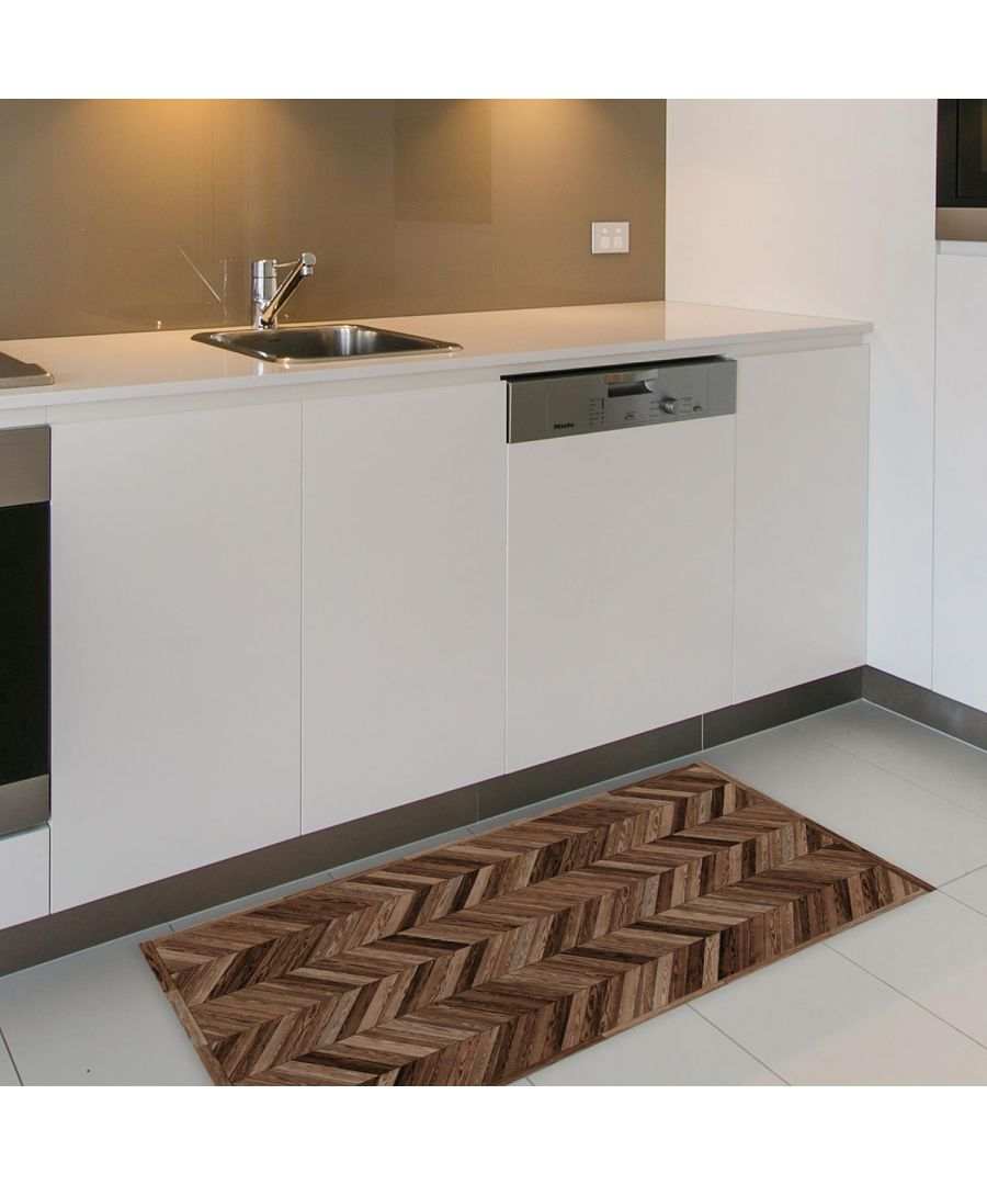 Image for Wooden Floor Mat 66 x 120 cm Floor Mats, Floor Rugs