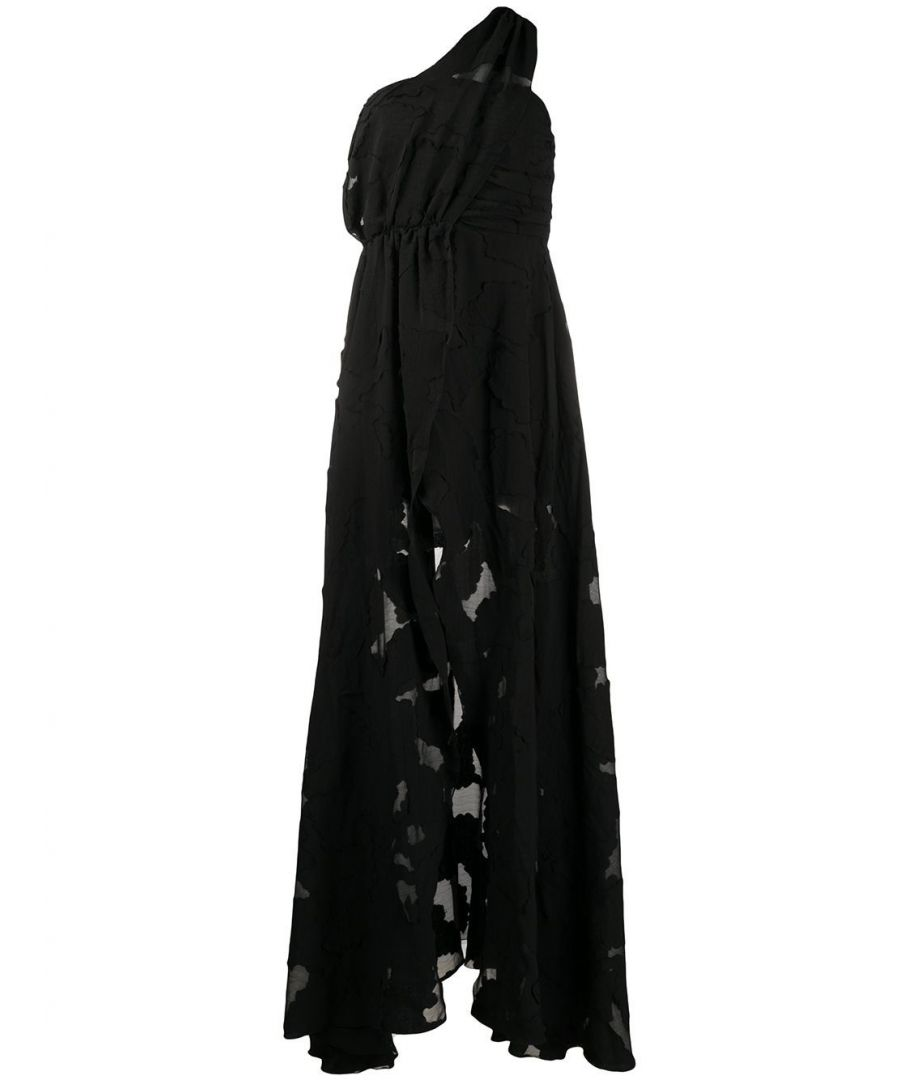 Image for FEDERICA TOSI WOMEN'S FTE20AB0700CH00130002 BLACK POLYESTER DRESS