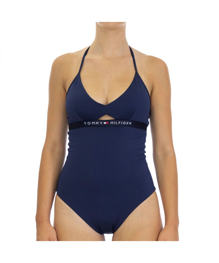Image for Tommy Hilfiger Women's Swimsuit in Blue